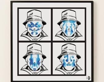 Rorschach - Watchmen Print