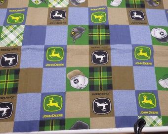 John Deere Fabric Collection, John Deere Tractor Fabrics, Quilting Cotton Bundle