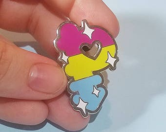 SALE!! - Pansexual Pride Enamel Pin