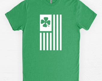 St Patricks Day Shirt - Irish T-Shirt - Clover - St. Paddy's