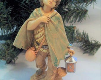 "Fontanini Depose Nativity Figurine David for 5"" Scale Nativity Made in Italy circa 1987"