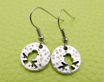 Bird Earrings stainless steel