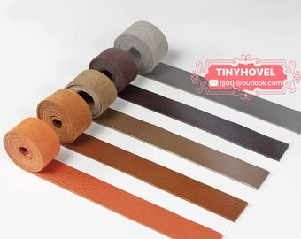 TOGO Leather Straps for Belt,  2.4mm thickness Strips, 4.5cm Width, 130cm length, Leather Strips L0014