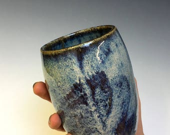 Ritual Blue Brushed Cup