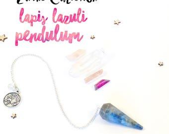 Lapis Lazuli Pendulum - Zodiac Collection