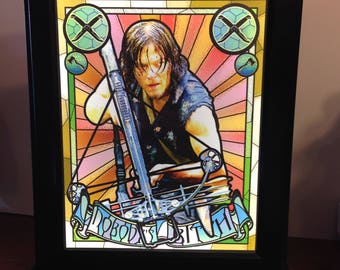Daryl Light Up Art Box