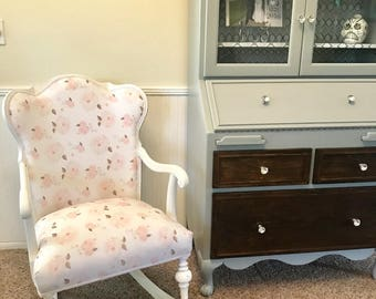MADE TO ORDER Custom Rocking Chair