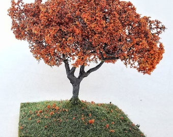 Miniature Red Fall Tree