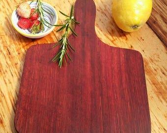 WA Jarrah Paddle, cheese board, bread board, tapas board
