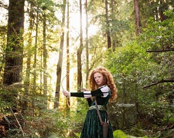 Merida Costume - Brave Inspired Princess Gown