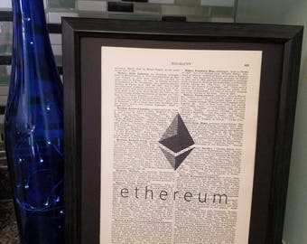 Dictionary Art: Ethereum