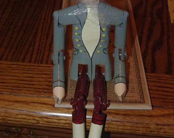 The Original STOMPER DOLL from West Virginia - Stringed Puppet