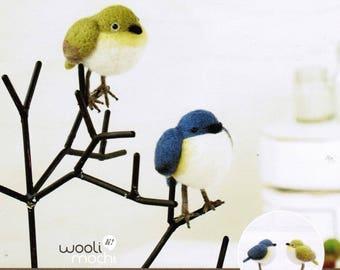 Twin Birds Needle Felting Kit