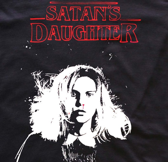 Satans Daughter - Stranger Things - Eleven - T-shirt/top/tote bag