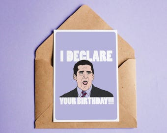Michael scott birthday card image collections birthday cards ideas michael scott birthday card choice image birthday cards ideas michael scott birthday card pictures to pin bookmarktalkfo Images