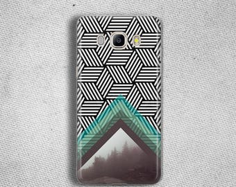 Black white geometric phone case for Galaxy J5 2016 Case for Galaxy J7 Case for Galaxy J3 2016 Case for Galaxy S8 Case for S8 Plus
