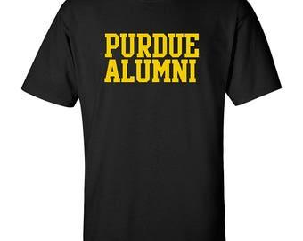 Purdue Boilermakers Alumni Block T-Shirt