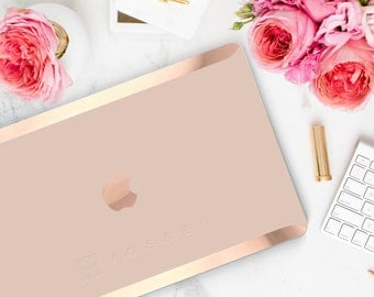 Rose Gold Embossed Company Logo or Company Name (Subtle Embossing in Design Area)  - Touch of Personality and glamour -  Platinum Edition