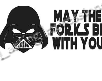Darth Vader - May The Forks Be With You - Star Wars - Instant Pot or Crock Pot Vinyl