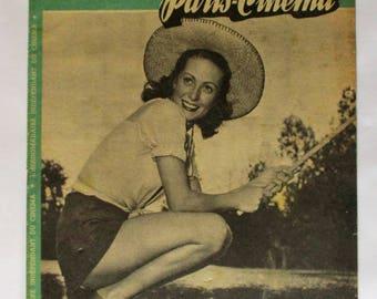 L'ecran Francais Paris Cinema Magazine 25 November 1947 Danielle Darrieux Laurel & Hardy Simone Renant