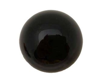 40mm Black Obsidian Sphere, Obsidian Gemstone Sphere 4cm Polished Specimen, Black Obsidian Sphere 40mm, Obsidian Gemstone Sphere 40mm