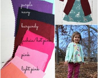 Kids Cardigan, Baby and Toddler Cardigan, Light Knit Jacket, Grandpa Cardi, Unisex, Custom Fabric Option