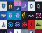 Mass Effect Themed Hand Towels