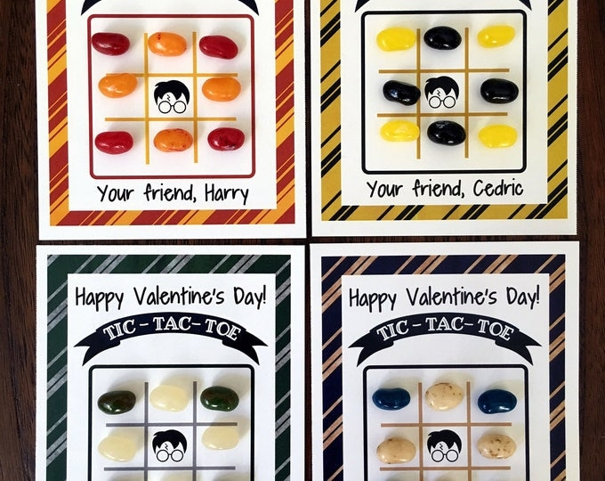 Valentine's Day Tic-Tac-Toe game - Set of 24