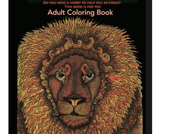 A Coloring Feast,Grown up coloring book