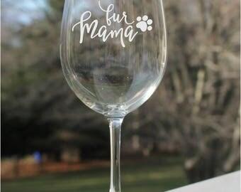 dog wine glasses etched wine glasses wine glasses dog 12oz fur - Etched Wine Glasses