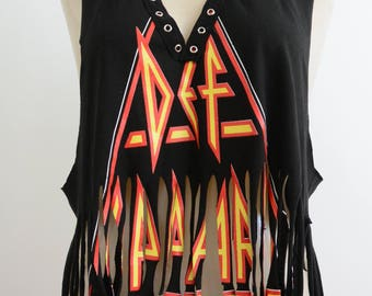 Def Leppard Cut Out tee