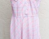 Vintage Sleeveless Pink P...