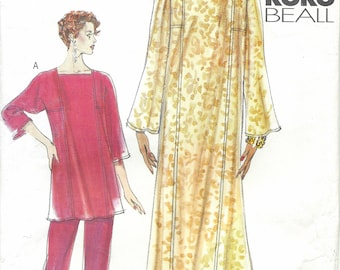 Vogue 7335 Caftan, Top & Pants Sewing Pattern UNCUT