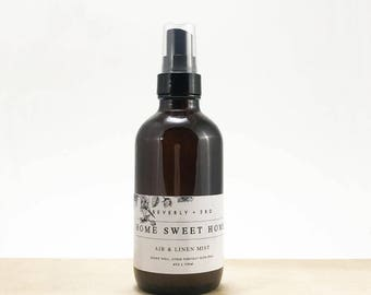 HOME SWEET HOME Air and Linen Mist   Scented Room Freshener, Home Fragrance Spray