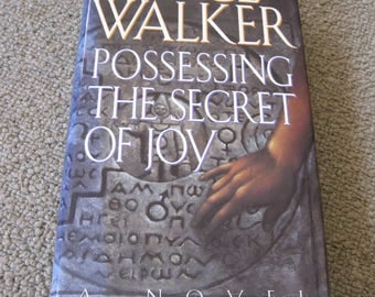 50% Off Signed Alice Walker Book Possessing The Secret Of Joy
