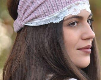 Womens Headbands, Nude Headbands, Head Wrap, Nude Pink Gifts, Pink Headband, Wide Headbands, Womens Turbans, Turbans Headbands, Hair Piece