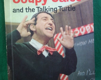 Vintage Soupy Sales - Soupy Sales and the talking turtle Wonder Books