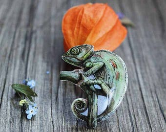 kids gift under 25 gifts|for|girls gifts kids birthday gift kids jewelry birthday kids eco friendly childrens gifts baby gift Chameleon pin