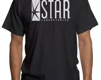 STAR Laboratories The Flash   Barry Allen Speedster DC Comics   Nerd Geek Super Hero Shirt   S.T.A.R. Labs Sweatshirt