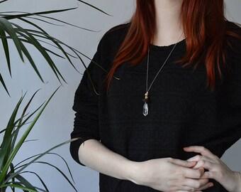 Necklace l Pendulum Blue