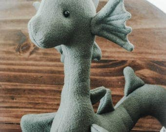 Loch Ness Sea Monster serpent snake- custom made