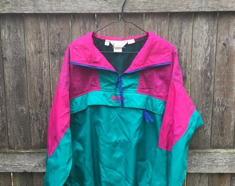 Pullover Colorblock Windbreaker