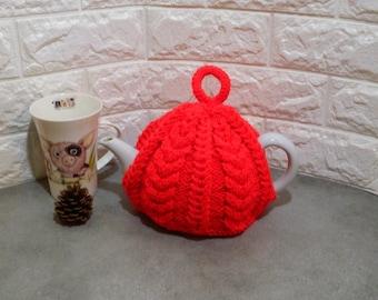teapot cover, teapot warmer, teapot cozy, tea pot cover, tea cosy, cosies, tea cosies, hand knit, tea cozy, tea lovers gift, fits 2 - 4 cup