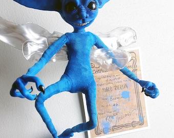 Cornish Pixie Harry Potter Inspired OOAK Poseable Art Doll - Bodmin