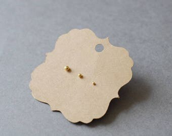 Mix Trio Set #23 *Gold Filled* Tiny Dot Ball Stud Earrings 2mm, 3mm, 4mm Set of 3 - *Gold Filled*
