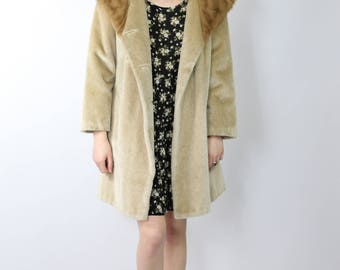 Faux Fur Coat - Vintage