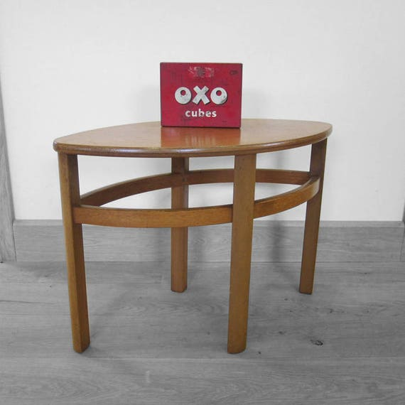 Mid Century Side Table Vintage Retro Kitsch Design Modernist