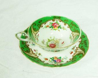 Vintage Tuscan China Teacup and Saucer