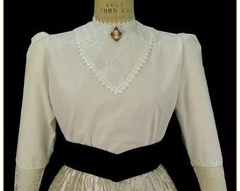 Lace Victorian Blouse