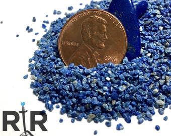 Lapis Lazuli - Medium Sand - 100% Natural Without Fillers